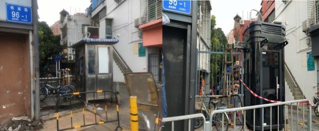 深圳多小区被要求换岗亭,有的去年才花七八千更新,居民质疑浪费