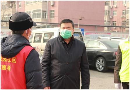 杜长清总经理视察丰泽园小区
